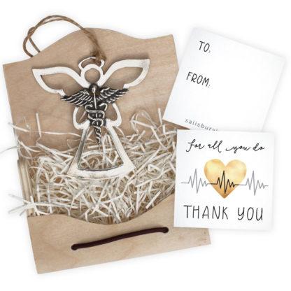 Angel of Appreciation Caduseus Ornament