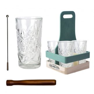 Cocktail Hour Gift Set for Four