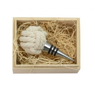 Rope Knot Bottle Stopper