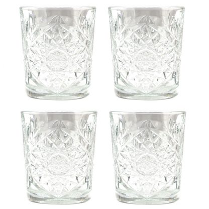 Bourbon Glass Set of 4